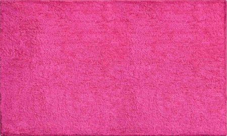 GRUND Luxusní bavlněná oboustranná koupelnová předložka, WISCONSIN 70x120 cm, růžová