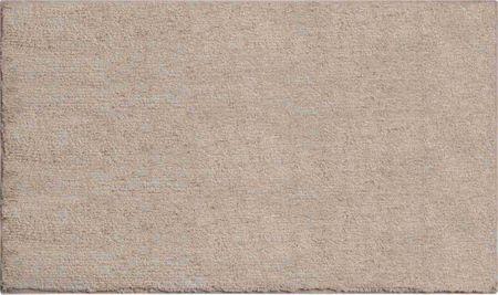GRUND Luxusní bavlněná oboustranná koupelnová předložka, WISCONSIN 60x100 cm, hnědá