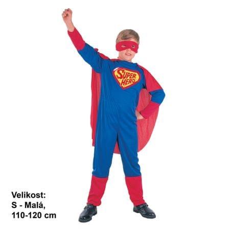 MaDe Šaty na karneval - Superhrdina, 110-120 cm