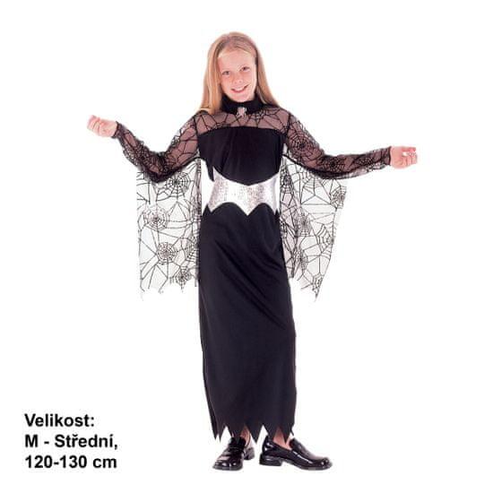 MaDe kostium dziecięcy na karnawał - Królowa Pająków, 120 - 130 cm