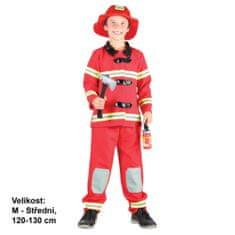 MaDe Gyermek jelmez - Tűzoltó, 120-130 cm