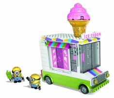 MEGA BLOKS Minionki Ice Cream Car