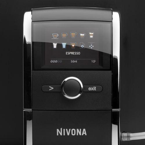 Nivona NICR 841 CafeRomatica disponuje intuitivním ovládáním