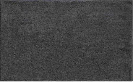 GRUND Luxusní bavlněná oboustranná koupelnová předložka, WISCONSIN 60x100 cm, antracitová