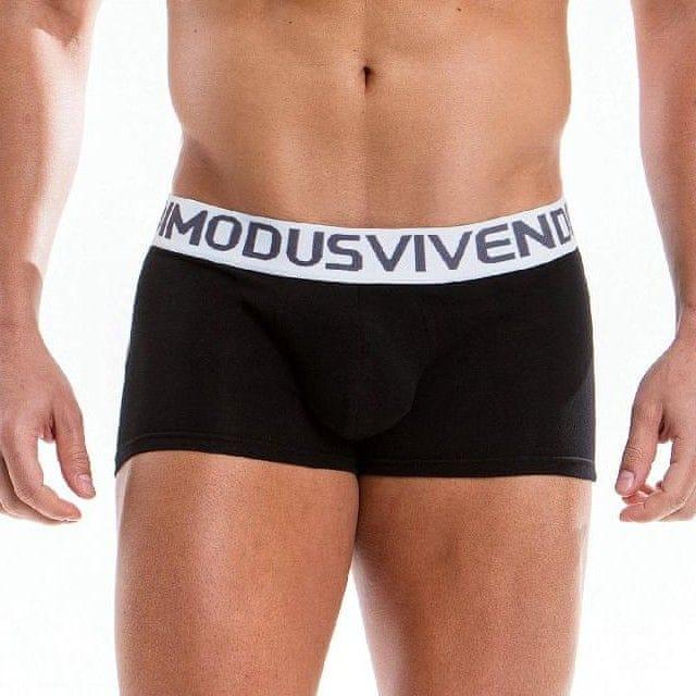 Modus Vivendi boxerky pánské černé Weekly Boxer 18521 - Velikost: L