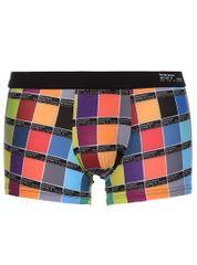 Bruno Banani barevné boxerky Hipshort Print Colour Code s černou gumou