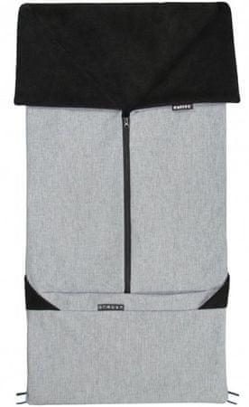 Emitex vreča za voziček 2v1 SEBI, siva/črna