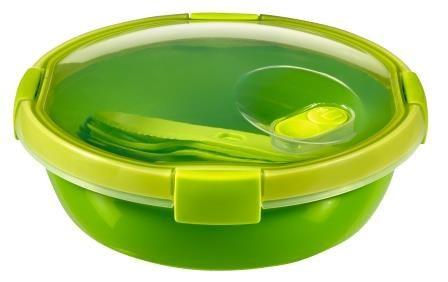 Curver posodica Lunch To Go s priborom 1L, zelena
