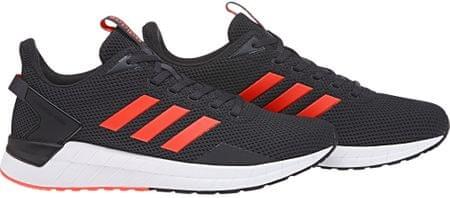 Adidas moške superge Questar Ride Carbon Solar Red Grey, 41,3