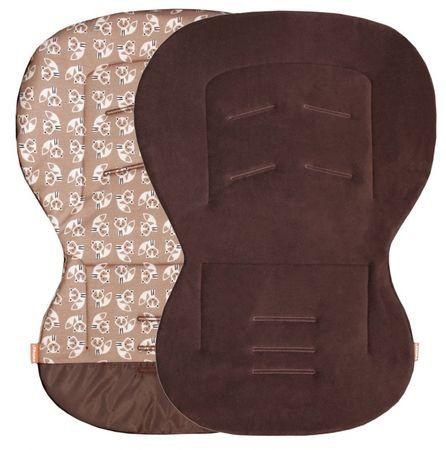 Emitex wkładka do fotelika MOBY, brązowy/liski