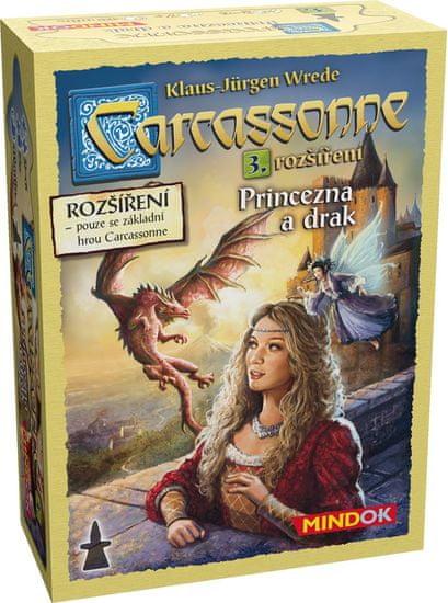 Mindok Carcassonne 3.rozšíření - Princezna a drak
