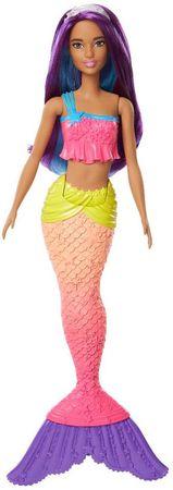 Mattel Barbie morská panna - fialové vlasy