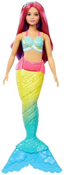 Mattel Barbie mořská panna růžová