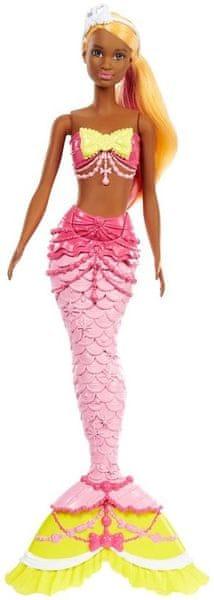 Mattel Barbie mořská panna žlutá