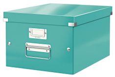 Krabice CLICK & STORE WOW střední archivační, led. modrá