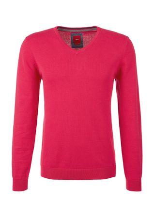 s.Oliver pánský svetr L růžová  0b9ba03bfb