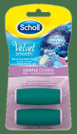 Scholl Velvet Smooth Wet&Dry Pótfej, 2 db