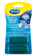 Scholl Velvet Smooth zamjenski valjak, 2 kom