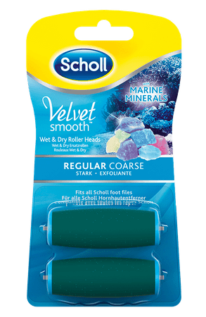 Scholl Velvet Smooth nadomestni valjček, 2 kosa