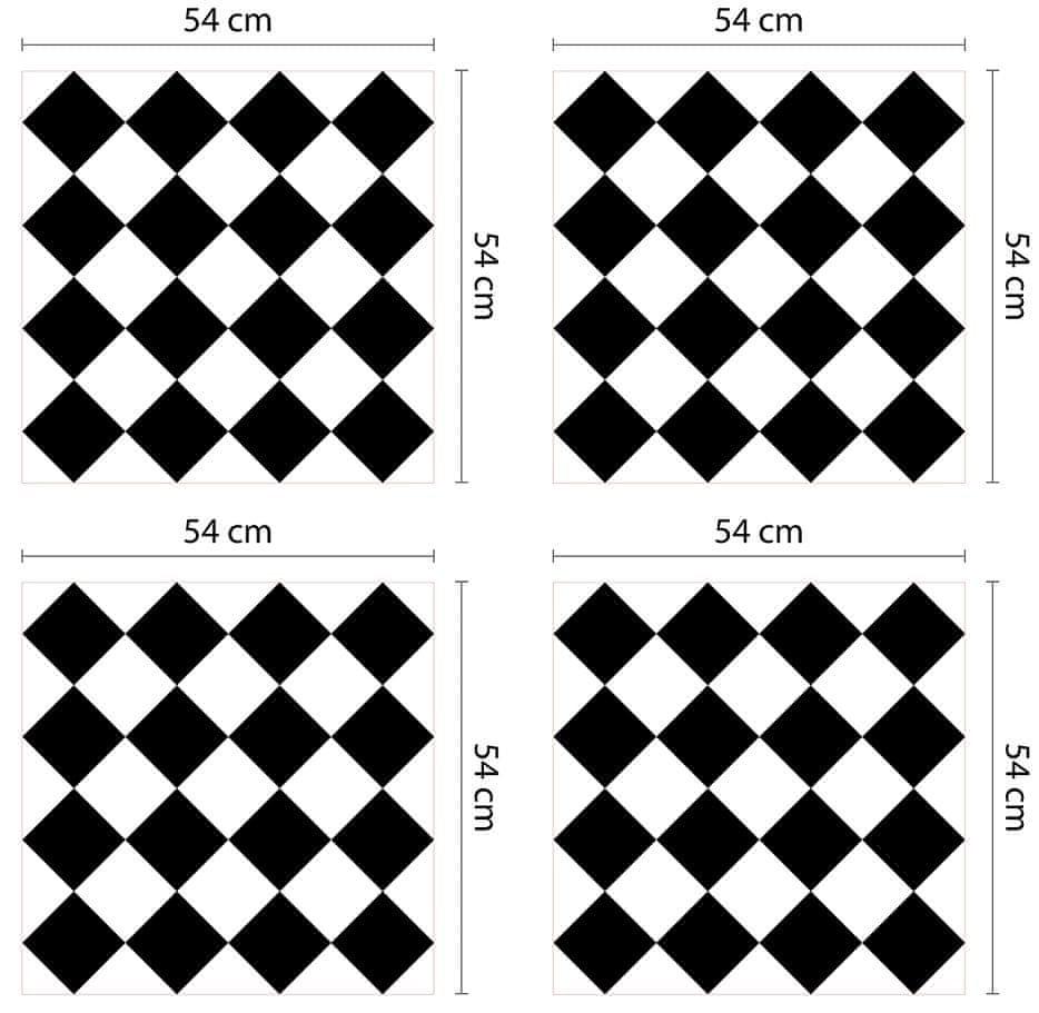 Walplus Samolepicí tapeta Diamonds Pattern