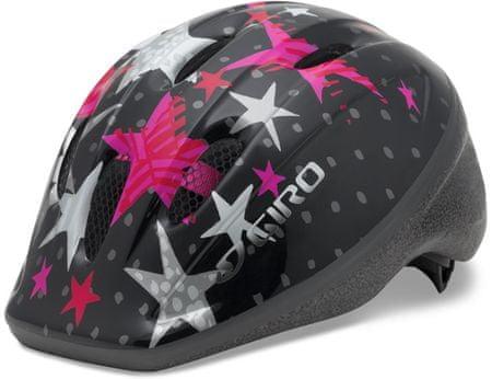 Giro Rodeo Black/Pink Stars 50-55 cm