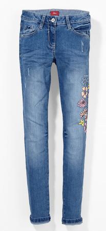 s.Oliver spodnie dziewczęce, 152 niebieski