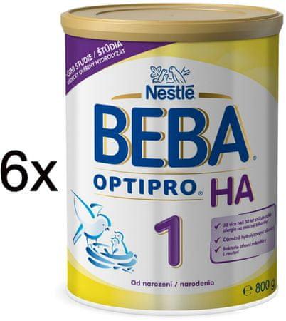 Nestlé BEBA OPTIPRO HA 1 - 6x800g
