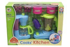 Unikatoy otroški kuhinjski set s kavnim aparatom in mešalnikom (25094)