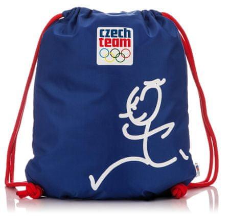 Cseh olimpiai bizottság Cipőzsák Cseh olimpiai csapat - Zátopek kék