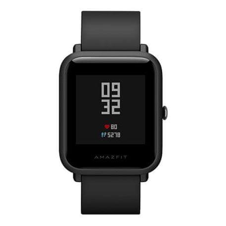 Xiaomi Amazfit Bip, Black - chytré hodinky