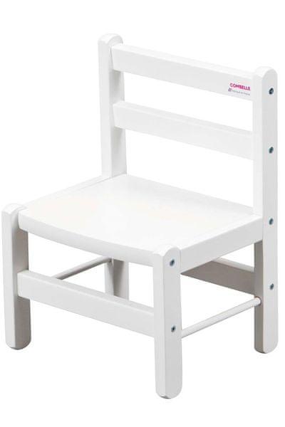 Candide Combelle Dětská židlička, bílá