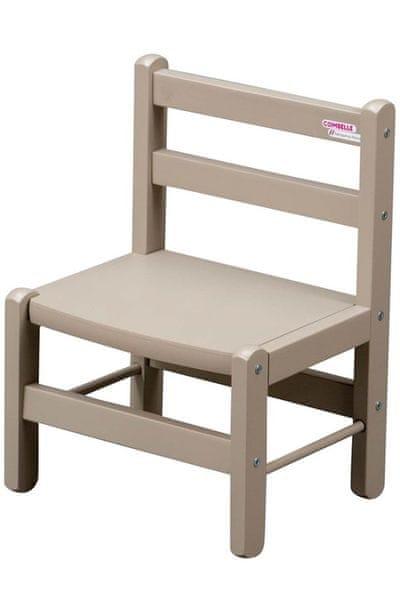 Candide Combelle Dětská židlička, šedá