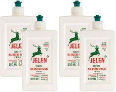 Jelen Tekuté mýdlo na ruční praní 4x 500 ml