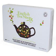 English Tea Shop Dárková sada čajů 36 sáčků/6 příchutí - bílá