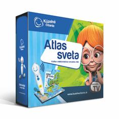Albi KÚZELNÉ ČÍTANIE tužka + Atlas sveta SK