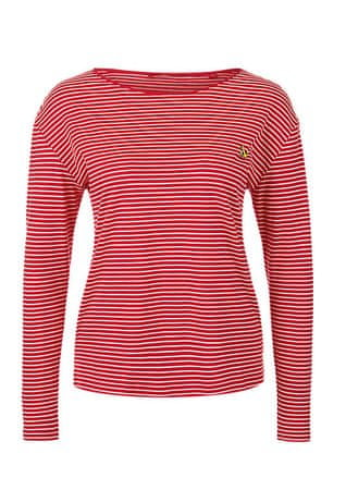 s.Oliver dámské tričko 38 červená