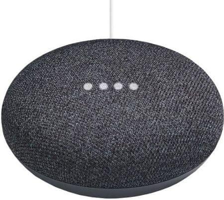 Google pametni hišni asistent Home Mini, temno siv