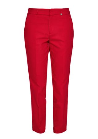 s.Oliver spodnie damskie 36 czerwony