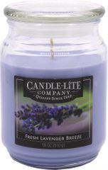 Candle-lite Svíce vonná Fresh Lavender Breeze 510 g
