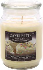 Candle-lite Svíce vonná Creamy Vanilla Swirl 510 g