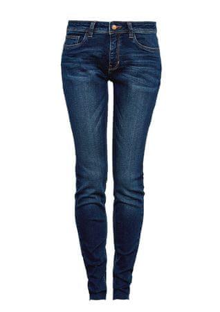 s.Oliver jeansy damskie 34/30 niebieski