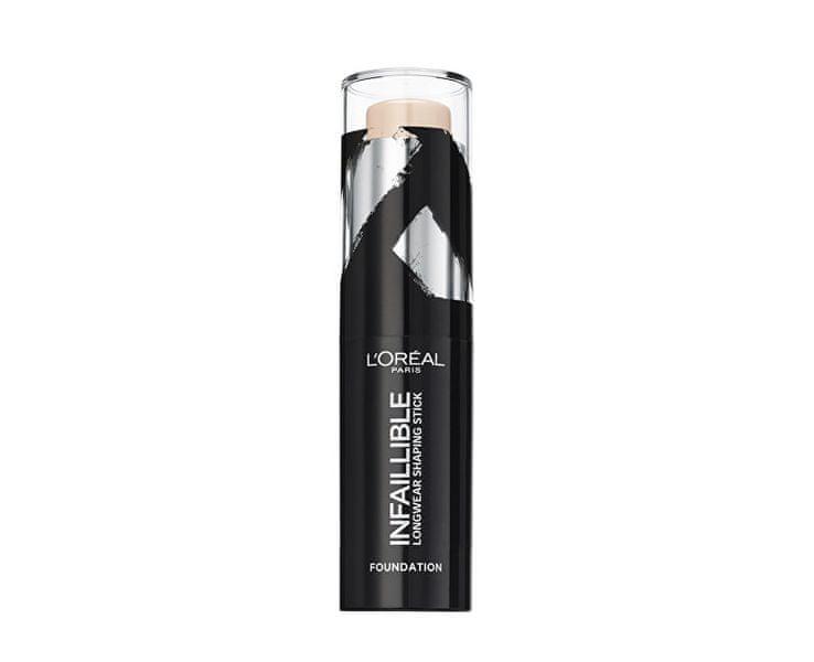L'Oréal Tuhý make-up v tyčince Infaillible Shaping Stick 9 g (Odstín 120 Vanilla Rose)