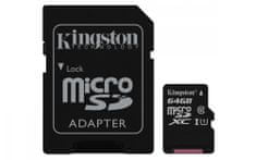 Kingston memorijska kartica microSDHC 64GB (SDCS/64GB)