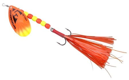 Spro Třpytka Supercharged Weighted Spinners Orange 14 cm