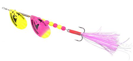 Spro Blyskáč Supercharged Weighted Tandem Spinners Cotton Candy 20 cm