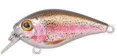 Spro Wobler Ikiru Naturals Crank Floating Rainbow Trout 4,5 cm 6 g