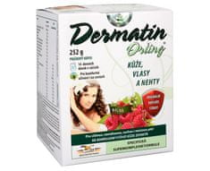 Orling Dermatin práškový nápoj příchuť malina 14 sáčků