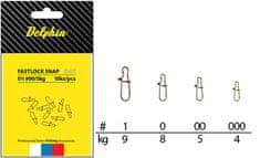 Delphin Karabinka Fastlock Snap C-01 10 ks