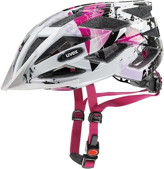 Uvex Air Wing White-Pink 52-57 cm