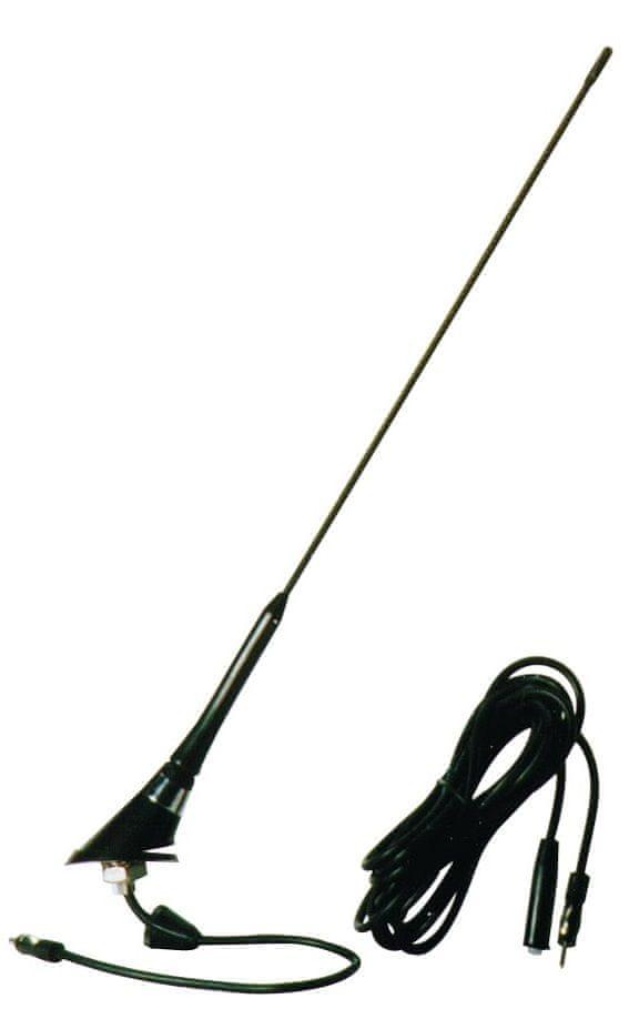 CarPoint Anténa Golf 16V se zesilovačem černá